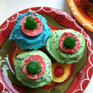 Sombrero Cupcake Toppers
