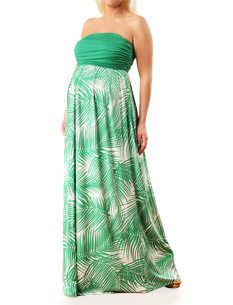 Strapless-Empire-Seam-Maternity-Maxi-Dress